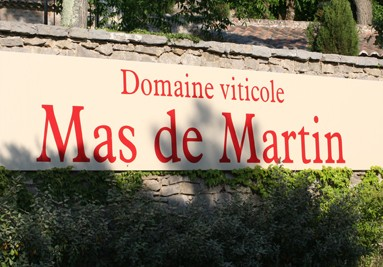 Bannière Mas de Martin